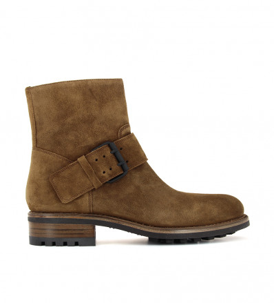 HYROD STRAP BOOT - SONIA EXTRA - CIGARE