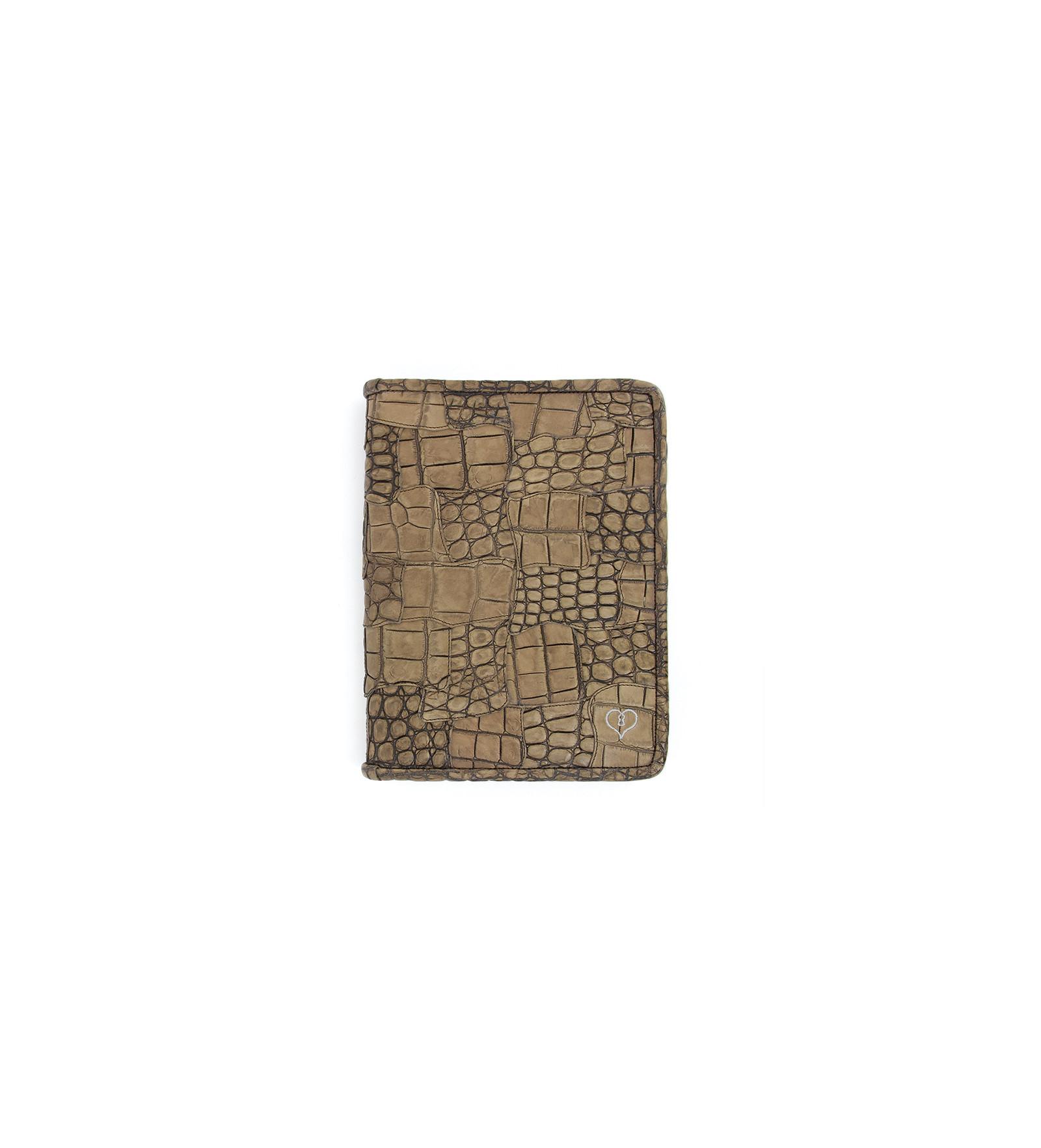 Porte bloc notes croco luigny naturel jean baptiste for Soldes portes interieures