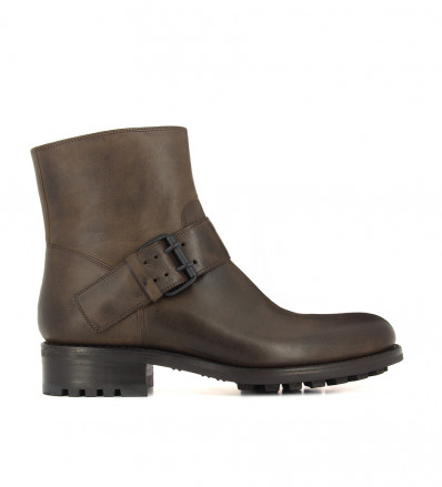 HYROD STRAP BOOT - KENTUCKY - BRUN