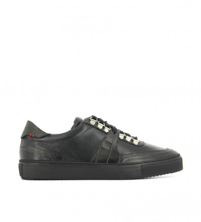RTR2 V LOW TOP SNEAK - MIX NAPPA/CROCO - PREMIUM NOIR