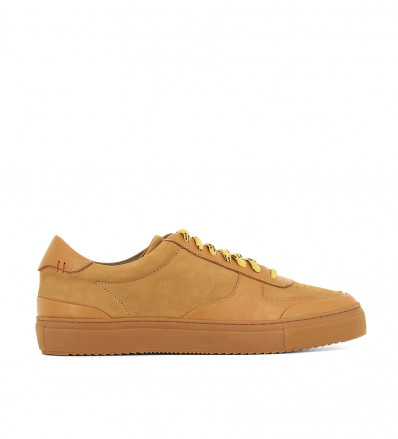 LOW TOP SNEAKER - NUBUCK - CANYON