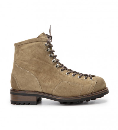 Offroad Special Bike - Cuir Velours - Taupe