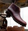 Hyrod Desert Boots - Cuir Glacé - Brun