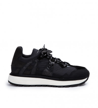 Lauda Hiking Sneaker - Nylon/Cuir Velours/Cuir Lisse/Nubuck/Gomme - Noir/Noir/Noir/Noir/Noir
