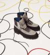 Cross Mountain Elast Boot - Laine Impermeable / Gomme / Cuir Lisse - Noir / Caviar / Noir