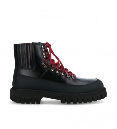 Cross Mountain Elast Boots - Cuir Glacé / Gomme - Noir