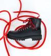 Cross Mountain Elast Boot - Cuir Glace / Gomme - Noir / Noir