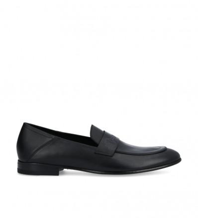 Carry Loafer - Veau Lisse Mat - Noir