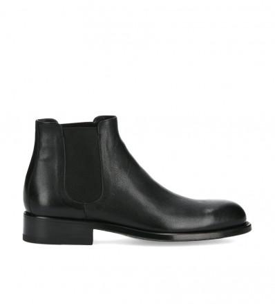 Chelsea boot Axel - Retro leather - Black